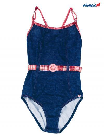 DLA DZIECI Kostium kąpielowy dla dziewczynki Olympia 34021