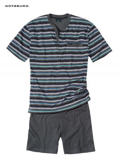 Piżama męska z krótkim rękawem Gotzburg 451403