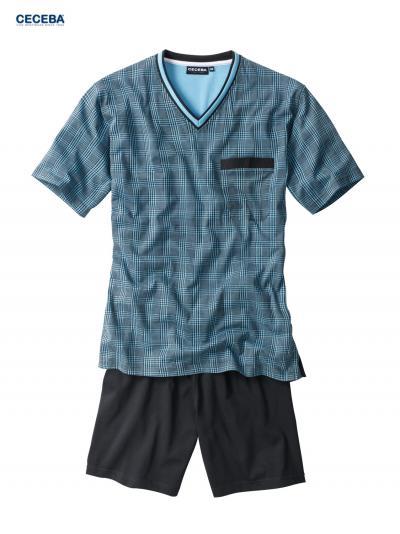 Piżama męska z krótkim rękawem Ceceba 30421