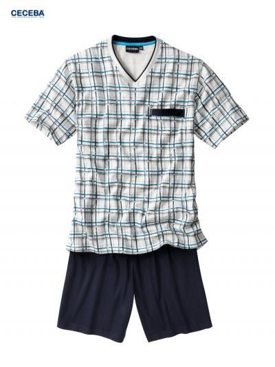 Piżama męska z krótkim rękawem Ceceba 30441