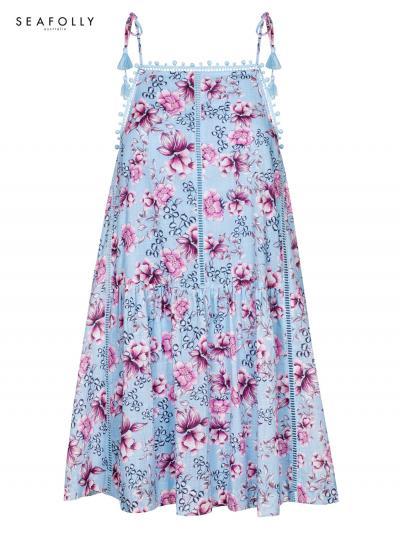 Sukienka plażowa Seafolly Ocean Rose 52895-DR