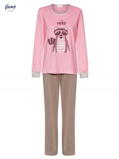 Piżama damska i ciepła kamizelka Vamp 4966