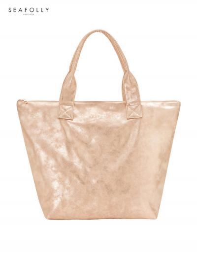 Torba plażowa Seafolly Vegan Leather 71362-BG