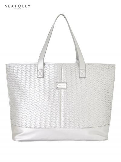 Torba plażowa Seafolly Basket Weave 71309-BG