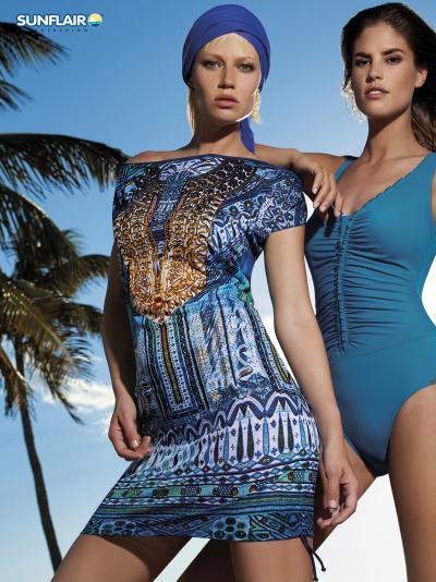 Sukienka plażowa Sunflair Sea Dome 23835