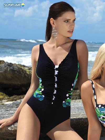 Kostium kąpielowy Sunflair BEAUTYFORM Garden Dots 22183