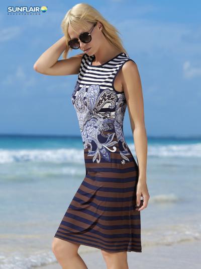 Sukienka plażowa Sunflair Paisley Marina 23355