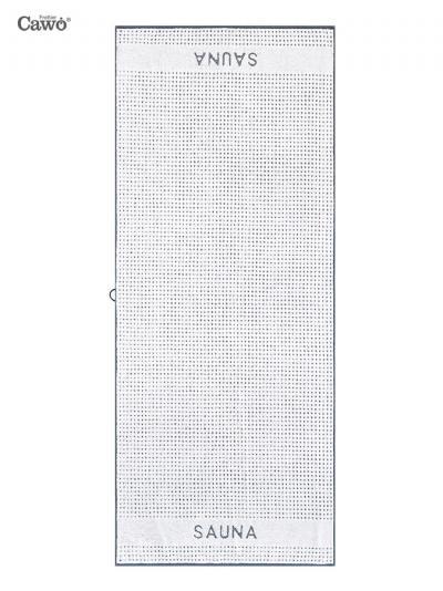 Ręcznik plażowy Cawo Frottier Sense Sauna 653