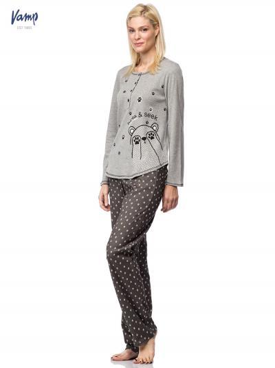 Piżama damska Vamp 7501