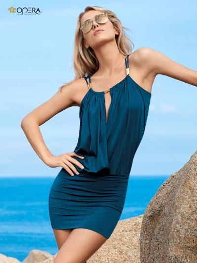 Sukienka plażowa Opera Flamed Nature 63314