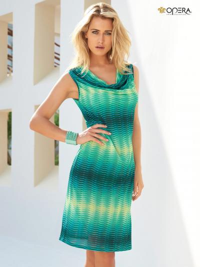 Sukienka plażowa Opera Happy Leaf 63302