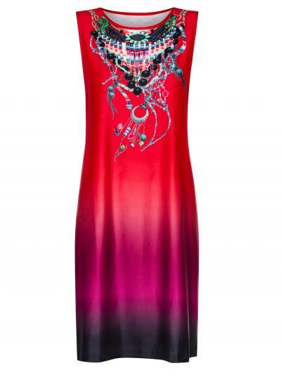 Sukienka plażowa Sunflair Fire Bird 23320