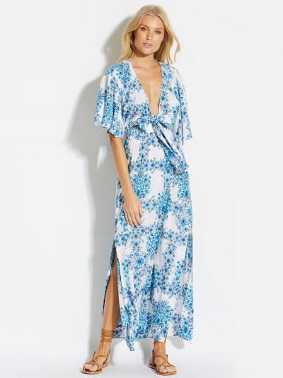 Sukienka plażowa Seafolly Sunflower 53410-DR