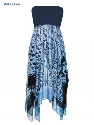 Sukienka plażowa - multistyle Sunflair Water Diamond 23210