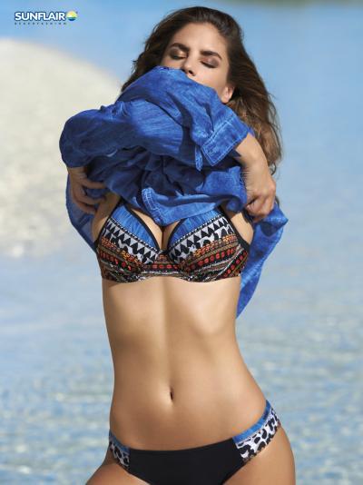 Tunika plażowa Sunflair Precious Dark 23102