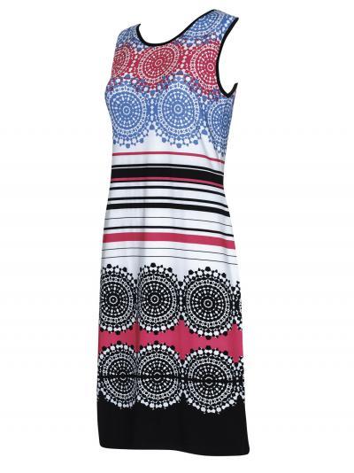 Sukienka plażowa Sunflair Sprakling Black 23327