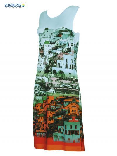Sukienka plażowa Sunflair Green Dream 23328