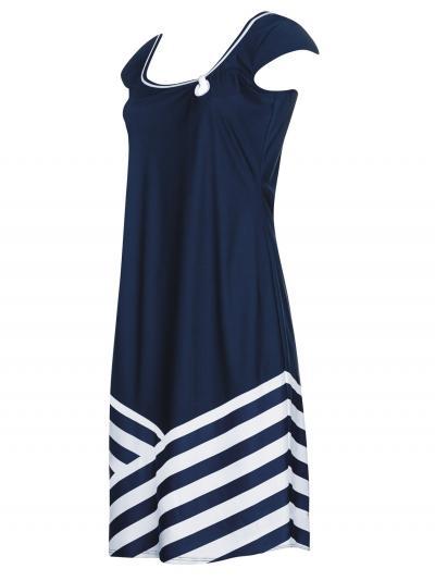 Sukienka plażowa Sunflair Lady in Blue 23329