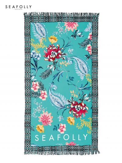 Ręcznik plażowy Seafolly Water Garden 71438-TL