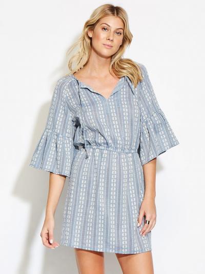 Sukienka plażowa Seafolly Dobby Stripe 53468-DR