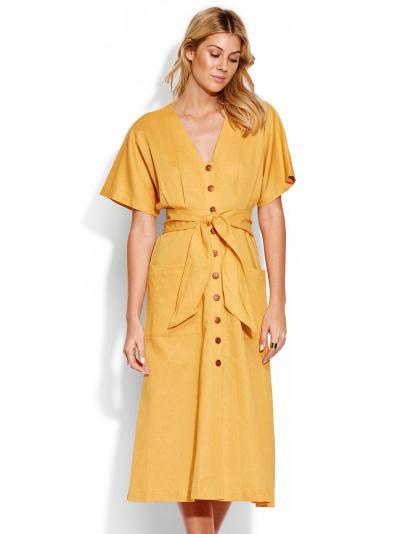 Sukienka plażowa Seafolly Button Front 53498-DR