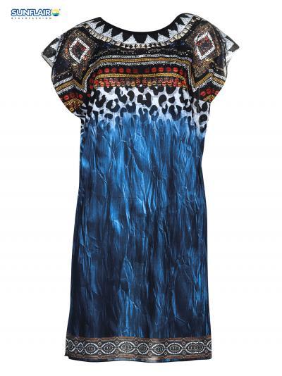 Sukienka plażowa Sunflair Precious Dark 23803