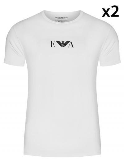 Koszulka męska 2PACK Emporio Armani 111267CC715