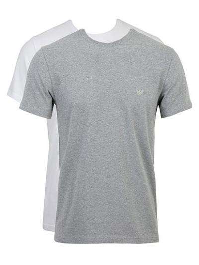 Koszulka męska 2PACK Emporio Armani 1112679A720
