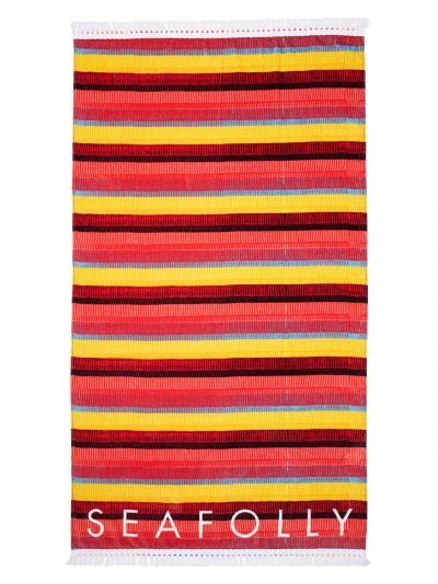 Ręcznik plażowy Seafolly Baja Stripe 71563-TL