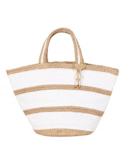 Torba plażowa Seafolly Stripe Jute Basket 71545-BG