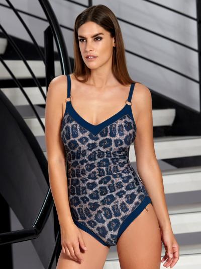 Kostium kąpielowy Opera Blue Animal 62086