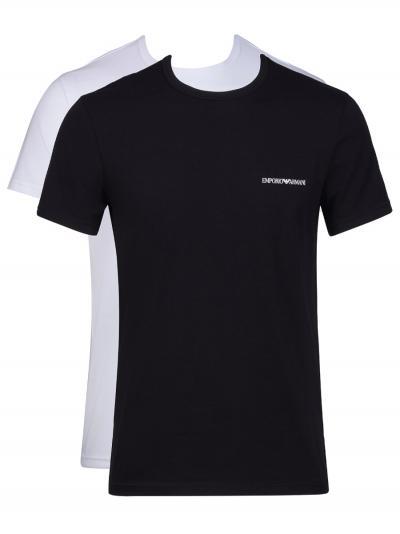 Koszulka męska 2PACK Emporio Armani 111267OP717