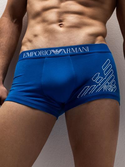 Bokserki męskie Emporio Armani Stretch Organic 111389OP524
