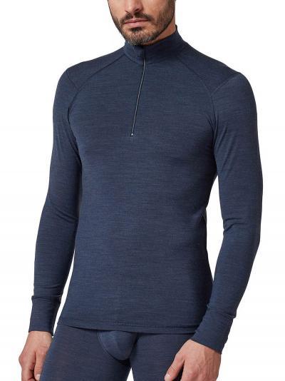 Koszulka męska z wełny Huber Wool Performance 112004