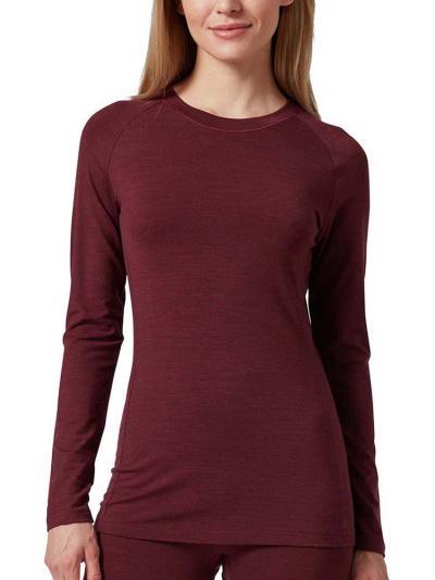 Koszulka damska z wełny Huber Wool Performance 016484