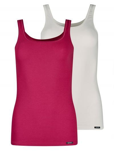 Koszulka damska 2PACK Skiny Advantage Cotton 081147