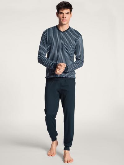 Piżama męska Calida Relax Imprint Basic 40680