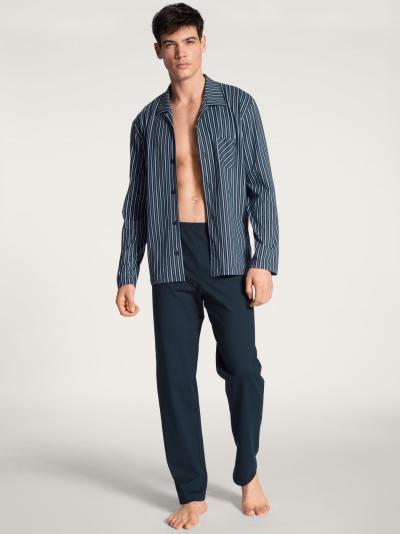 Piżama męska rozpinana Calida Relax Imprint Basic 40780